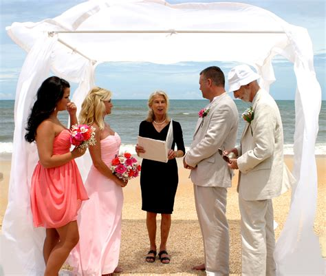 wedding officiant wedding officiants florida palm coast and the flagler beac