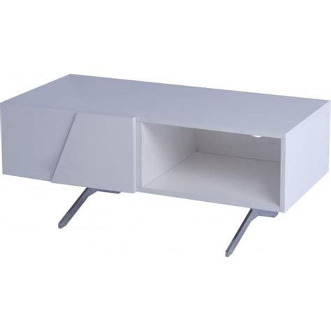 Small Media Shelf by Buy Gillmore Space White Lacquered Small Media Unit With