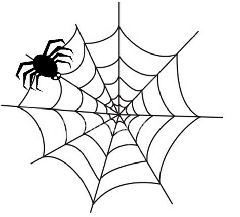halloween spider images coloring home