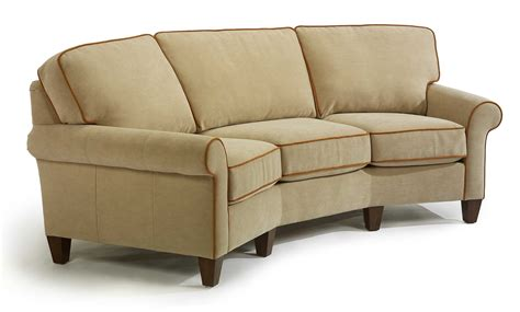 Flexsteel Curved Sofa by Conversation Sofa Archives Jasen S Furniture Since