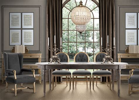 french country dining room table eclectic dining room