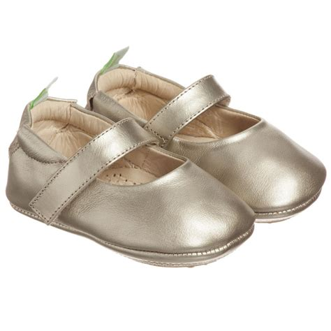 gold shoes baby tip toey joey baby gold shoes childrensalon