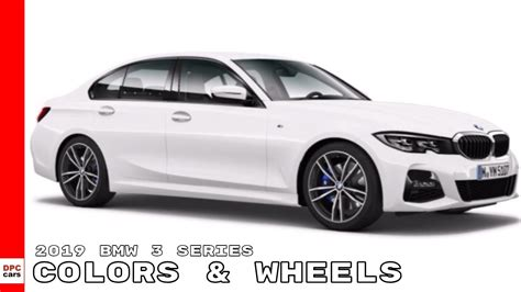 bmw  series  mi colors wheels youtube