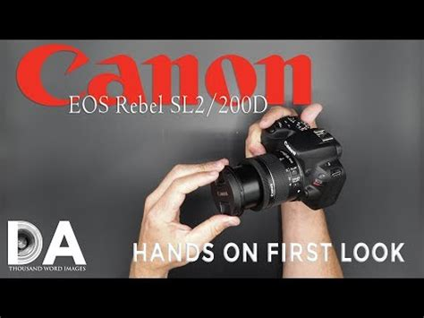 canon sl2 (200d) review best camera for beginners 2018 | doovi