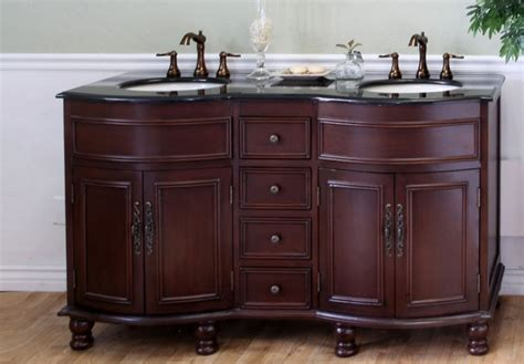 62 bathroom vanity 62 inch double sink bathroom vanity in colonial cherry