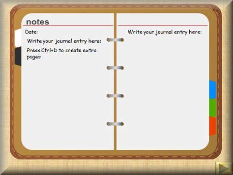 layout jornal ppt word diary template calendar template 2016