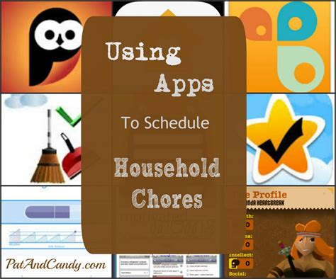 home chores app how to use technology to schedule household chores