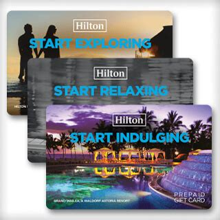 Hilton Hotels Gift Card - 40th birthday gift ideas you must see creative gift ideas and curious goods