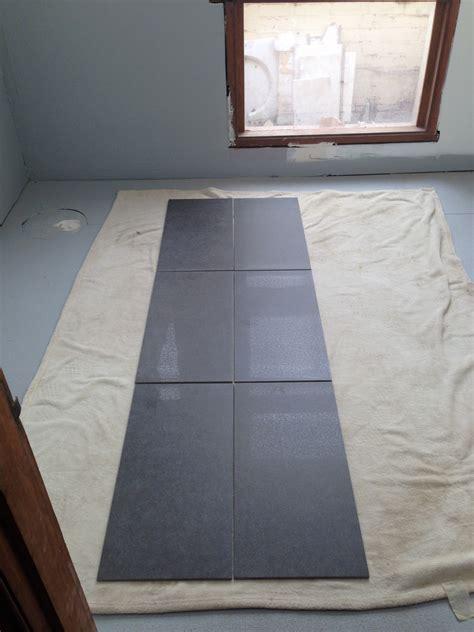 Floor Tiles ? Straight vs Brick pattern ? David & Penny's
