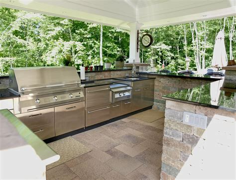 outside kitchen designs outdoor kitchens the ultimate garden party