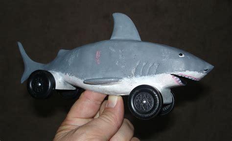 hammerhead shark pinewood derby car template motorcycle