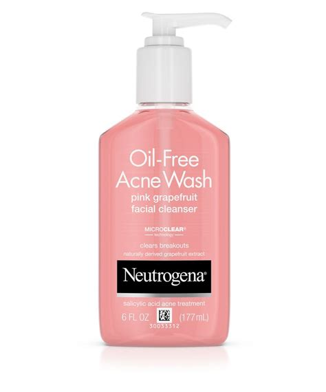 Acnes Facewash free acne wash pink grapefruit cleanser
