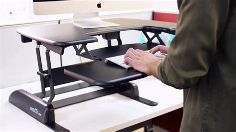 Pro Plus 30 Height Adjustable Standing Desk Video How To Standing Desk