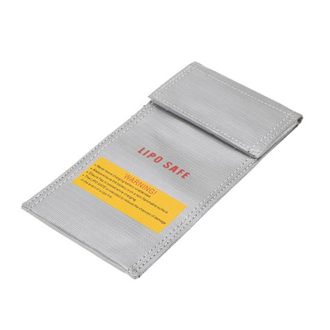 Generic Rc Lipo Battery Safety Guard Charge Bag 23 X 20cm Aa401 20 10cm silver high quality glass fiber rc lipo battery safety bag safe guard charge sack in