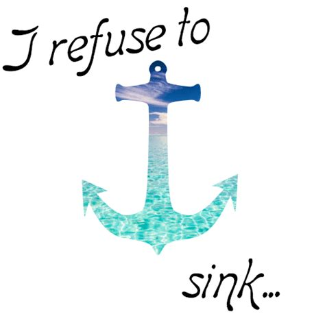 I Refuse To Sink Bible Verse by Anchor Gif Clipart Best