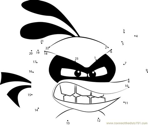 angry birds bubbles coloring pages angry birds bubbles dot to dot printable worksheet