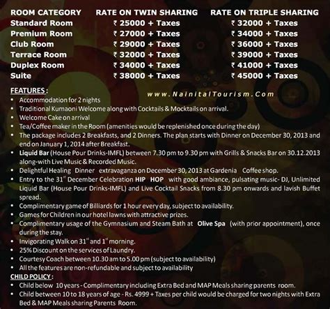 new year packages 2015 nainital tourism since 1999 2015 2016 new year