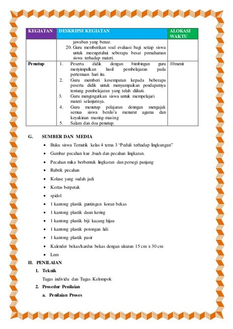 Buku Pintar Mengerjakan Tugas Tematik Kelas 4 Semester 1 Dan 2 Buku Tu perangkat pembelajaran tematik sd kelas 4 semester 1 tema 3