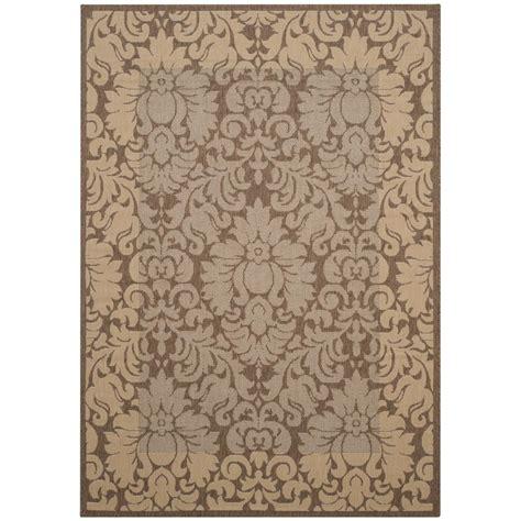 safavieh cy2727 3009 courtyard indoor outdoor area rug lowe s canada safavieh courtyard brown 6 ft 7 in x 9 ft 6 in indoor outdoor area rug cy2727 3009 6