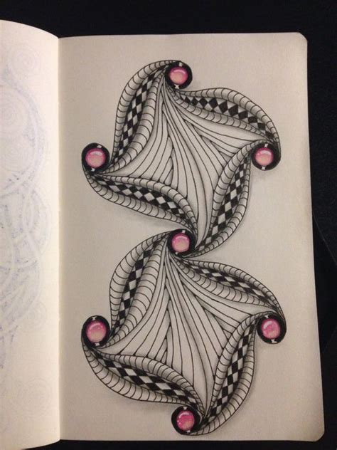 zentangle pattern cadent zentangle on pinterest
