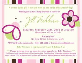 baby shower invite exles theruntime