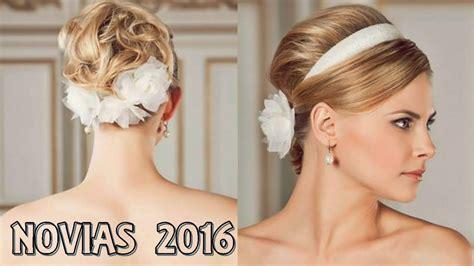 peinados modernos 2016 peinados fiesta 2016 peinados para novias 2016 youtube