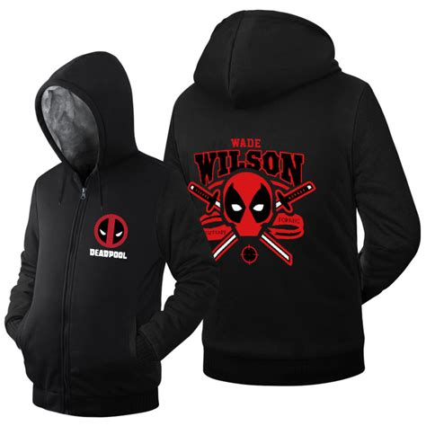 Jaket Sweater Hoodie Zipper Billiard 2 King Clothing 5 popular deadpool hoodie buy cheap deadpool hoodie lots from china deadpool hoodie suppliers on