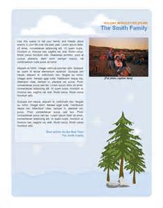 Family Newsletter Template Free by 7 Family Newsletter Templates Free Word Documents