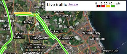 maps traffic colors the traffic colours on the iphone s map all about