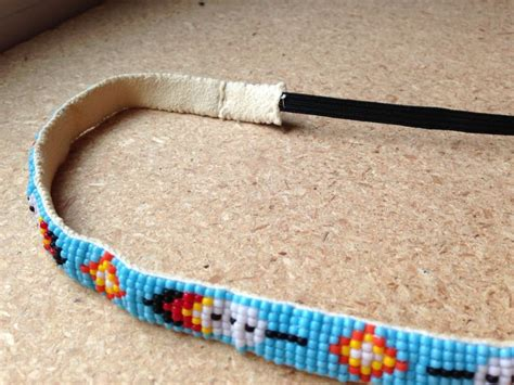 how to make a beaded headband american american feather beaded headband things