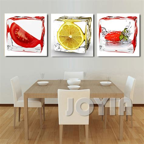 canvas wall art for dining room takuice com aliexpress com buy 3 panel modern wall art dining room
