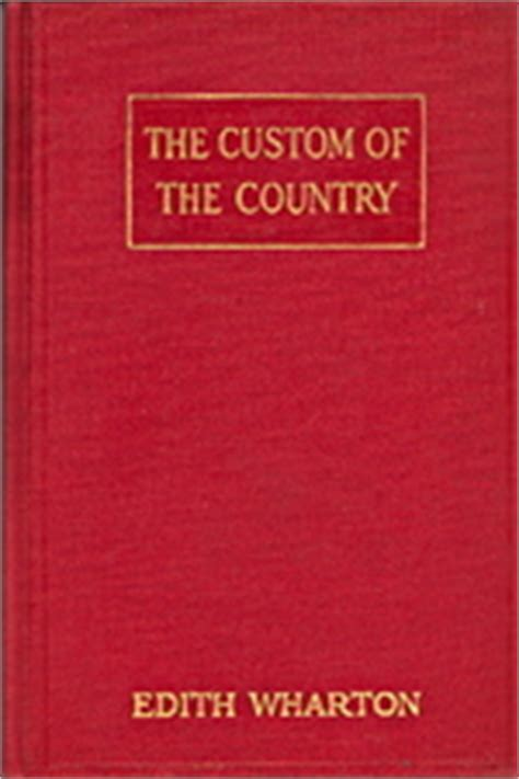 the custom of the country books the custom of the country
