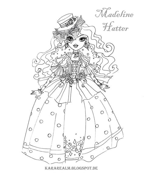 ever after high and monster high coloring pages 75 best images about ever after high coloring pages on