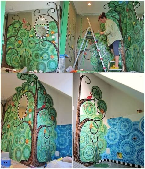 ideas mosaic wall:  mosaic designs online so take a look at some inspiring mosaic wall art
