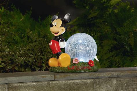 disney mickey mouse statue outdoor living outdoor decor lawn ornaments statues