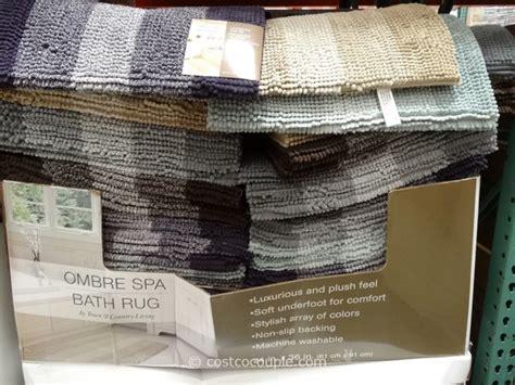 costco bath rugs ombre spa bath rug
