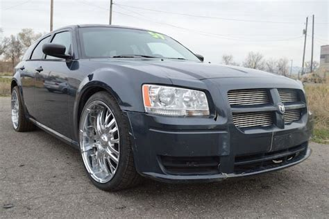 how to sell used cars 2008 dodge magnum security system buy used 2008 dodge magnum se wagon 2 7l damaged salvage runs priced to sell wont last in