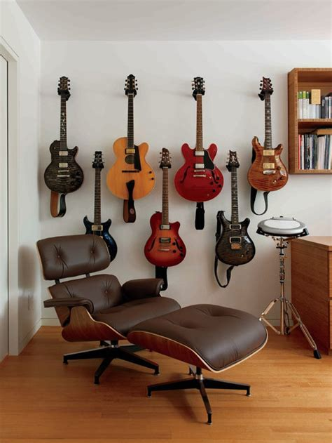 hanging guitar ideas pictures remodel  decor
