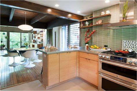 part iii mid century modern kitchen remodel coty award