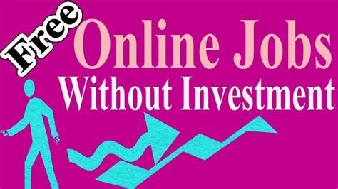 Free Online Jobs Work From Home Without Investment - without investment 20 free online jobs ways ideas from home simple online jobs