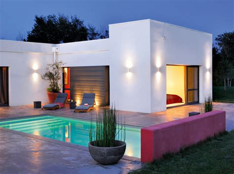 bright house design the red bright color modern house design in france freshnist