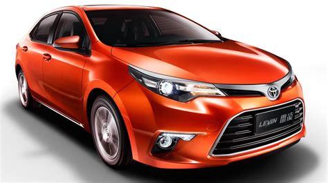 Toyota Corolla Turbo Toyota Levin 1 2t China Corolla Gets New 1 2l Turbo