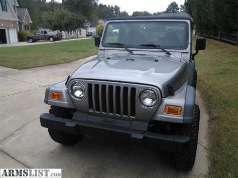 Jeep Manual Transmission For Sale Armslist For Sale 2000 Jeep Wrangler