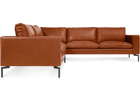 blu dot standard sofa new standard small sectional leather sofa hivemodern com