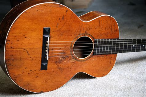 Vintage Guitar Acustic gibson l 1 1926 vintage acoustic guitar guitar