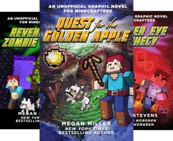 unofficial graphic novel for minecrafters (6 book series)