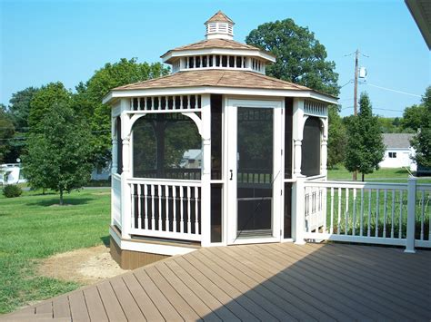 screen gazebo gazebos st louis decks screened porches pergolas by