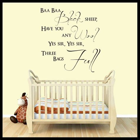 Nursery Rhyme Wall Decals 37 Best Images About Nursery Rhyme Baby On Shop Home Vinyl Wall And