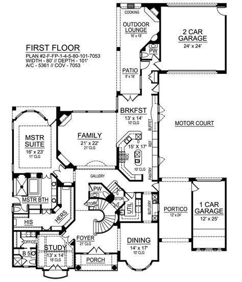 portico house plans luxury house plans with portico luxamcc