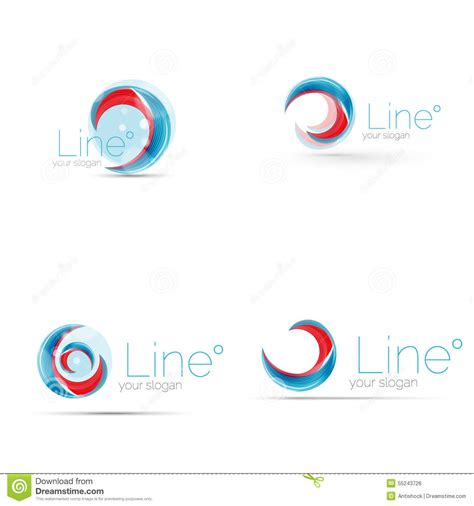 brand logo design tips swirl company logo design stock vector image of blue 55243726